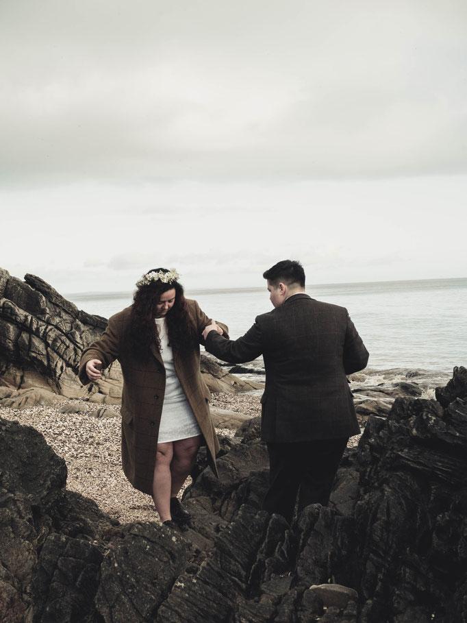 powillimount beach weddings