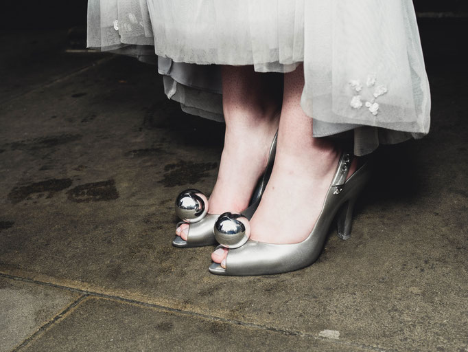 vintage wedding jimmy choo shoes