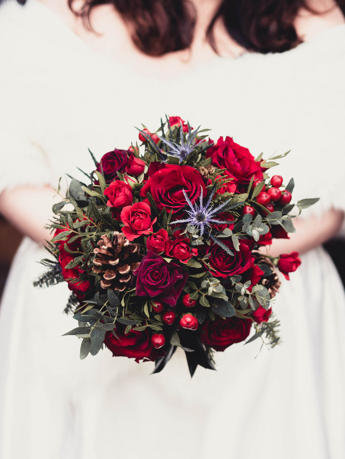florist edinburgh wedding bouquet