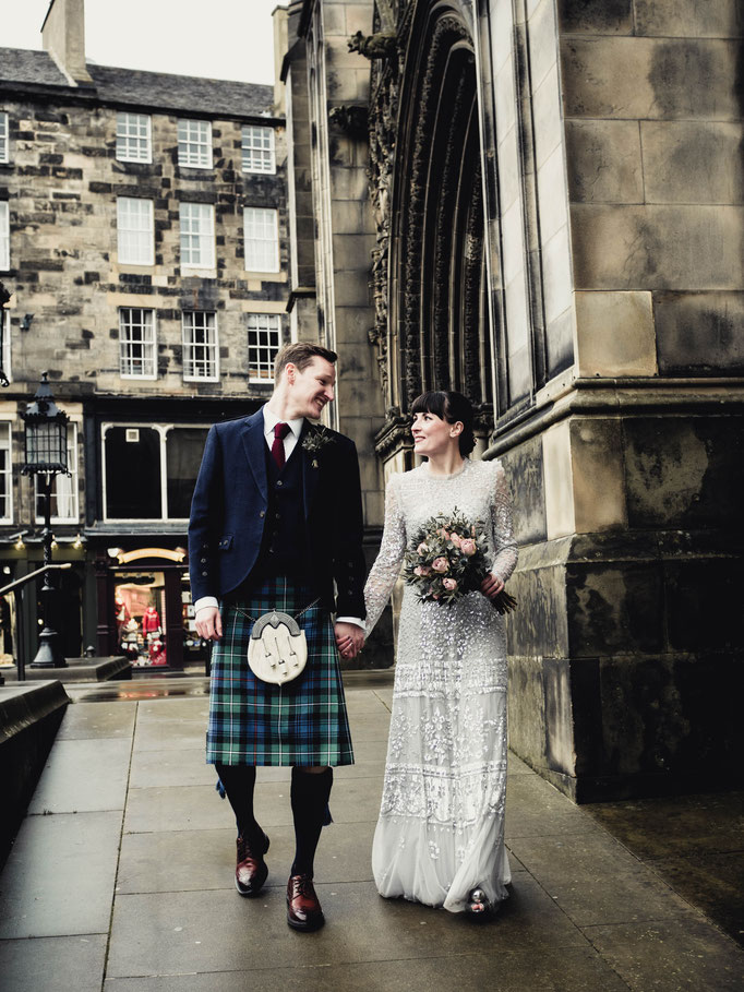wedding reportage scotland edinburgh