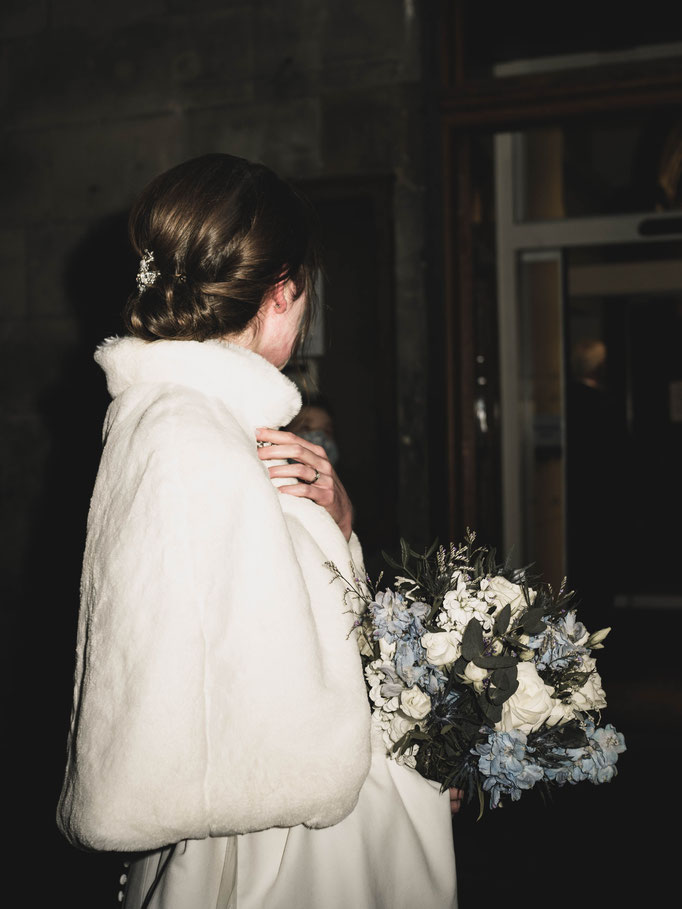 night wedding reportage scotland