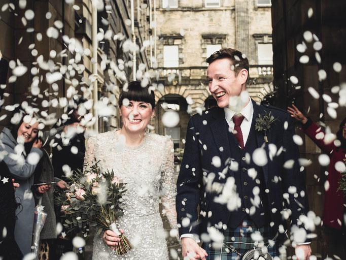 edinburgh royal mile city chambers wedding
