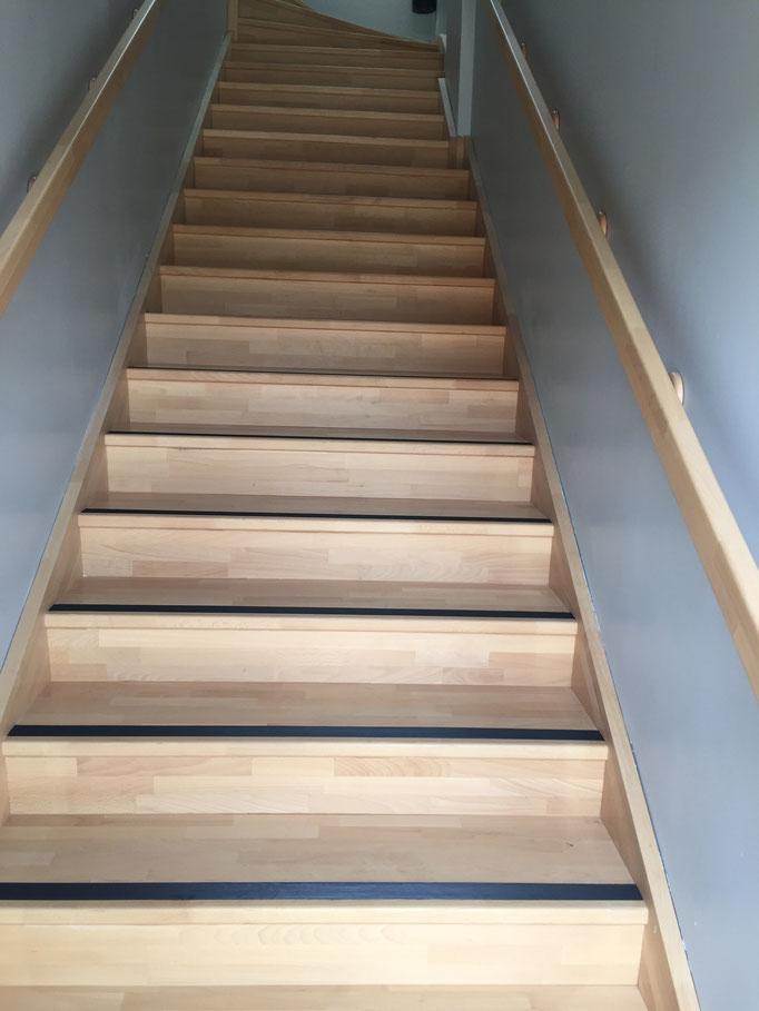 Accès Dortoir par escalier extérieur