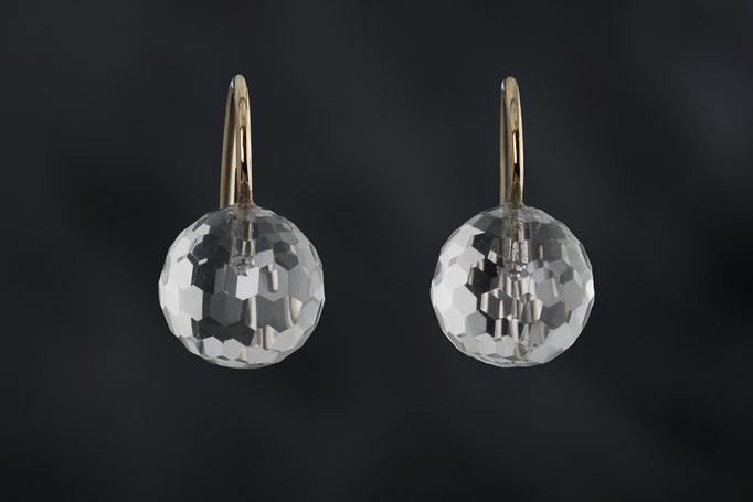 Artikelnummer 7120 - Bergkristalle, 585/- Rosegold