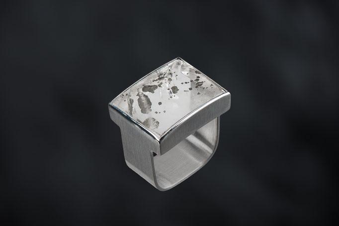 Produktnummer 8690 - 925/-Silber, Bergkristall-Hämatit