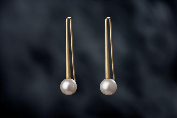 Artikelnummer 6674   - 750/- Gelbgold, Perlen