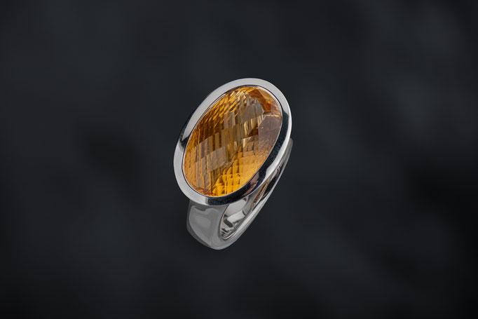 Produktnummer 4533 - 925/- Silber, Palmeira  Citrin