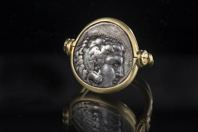 Produktnummer 2149 - 750/- Gelbgold, antike Münze