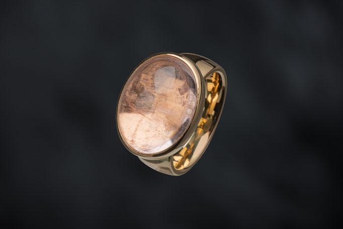 Produktnummer 6836  - Morganit, 585/- Rosegold