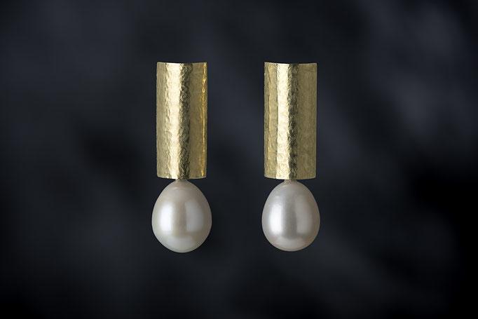 Artikelnummer 7634 - 750/- Gelbgold, Perlen
