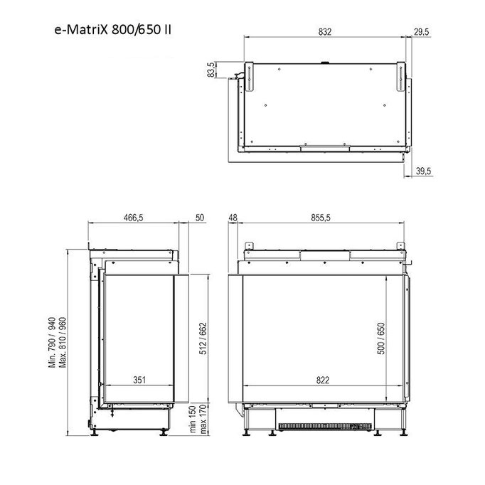 e-Matrix 800/650 II Skizze