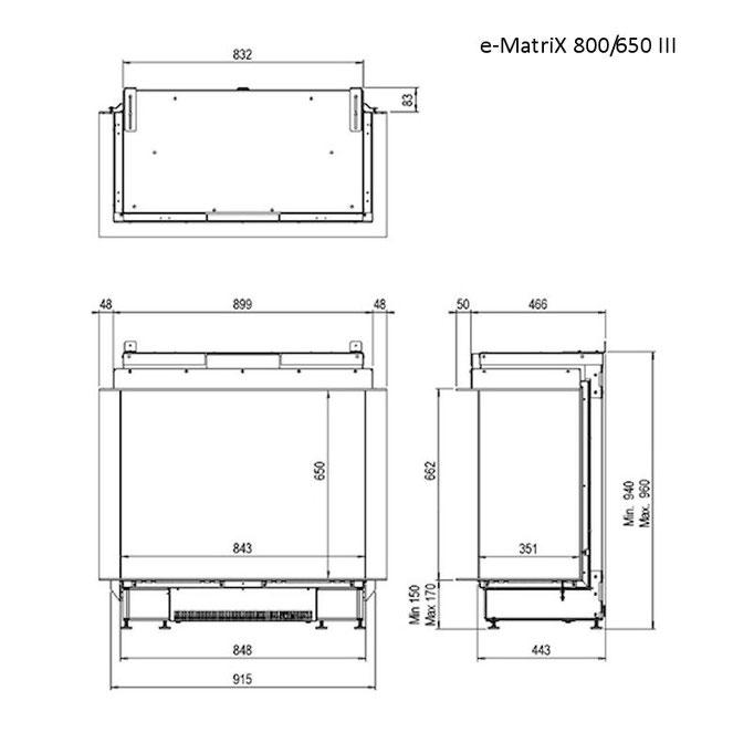e-Matrix 800/650 III Skizze