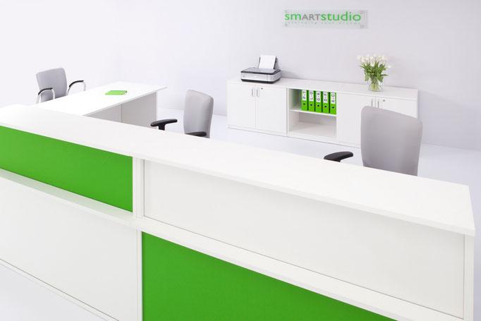 Empfang Tresen Counter Rezeption Modell VELUM Nowystylgroup
