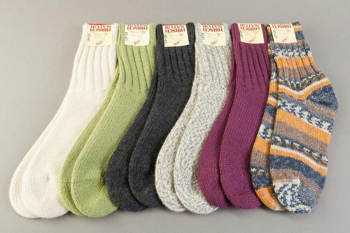 f3505d44f68c49 Woll-Socken von Hirsch-Natur - reinighof-shop