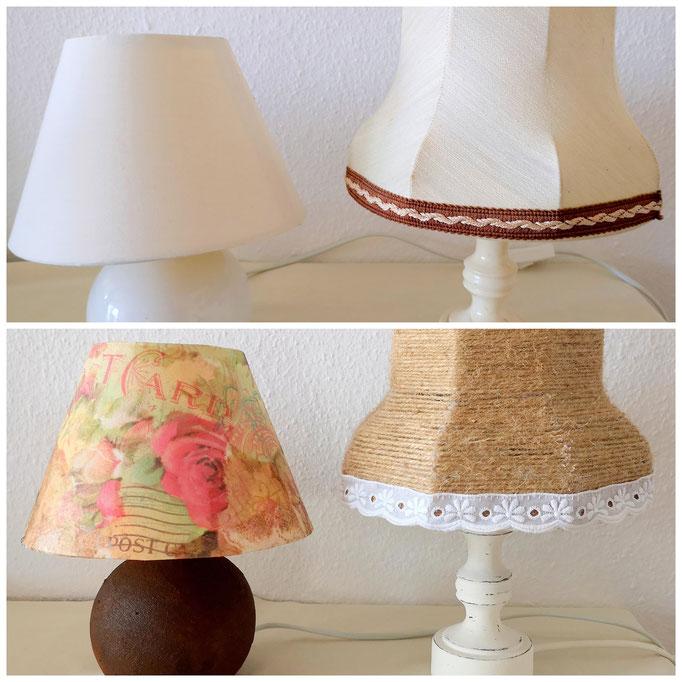Lampen verwandelt handmadebykw