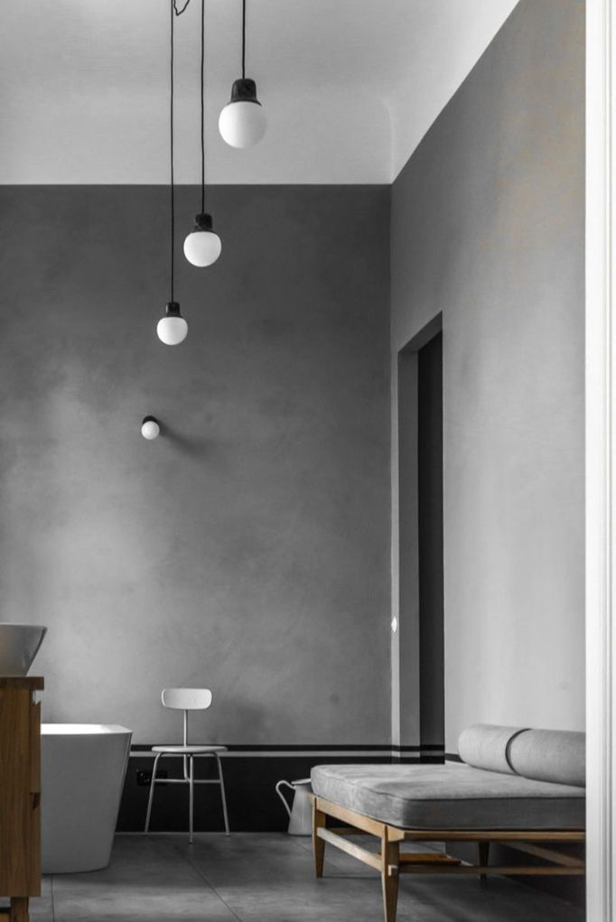 Monochrome Interiors - PASiNGA; image via the ultralinx