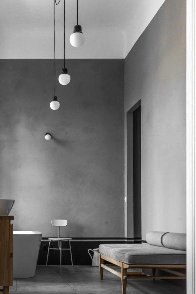 Monochrome Interiors - PASiNGA; image via the ultralinx