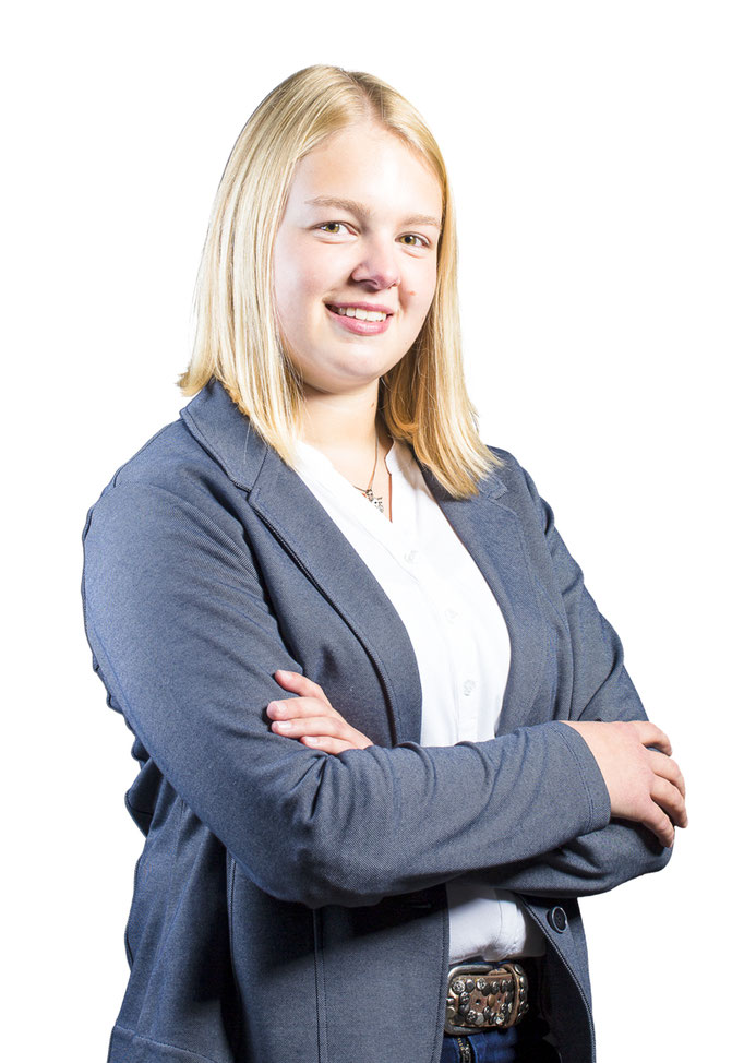 Mitarbeiterportraits, Frau, Weißer Hintergrund, Fotograf Bad Arolsen
