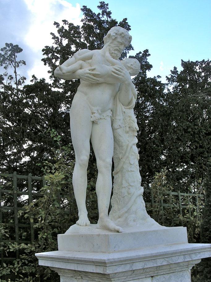 Hercule, XVIIe s., marbre