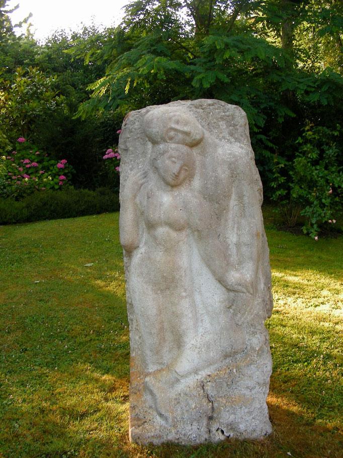 Les amants, Nathan Rapoport, pierre du Sinaï