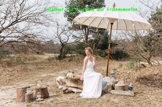 Fotoshoot Drunese Duinen voor Kroonmomenten