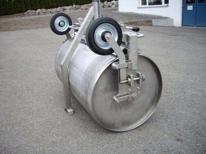 Gärtnerwalze herbatec KB 700 mit Radsatz