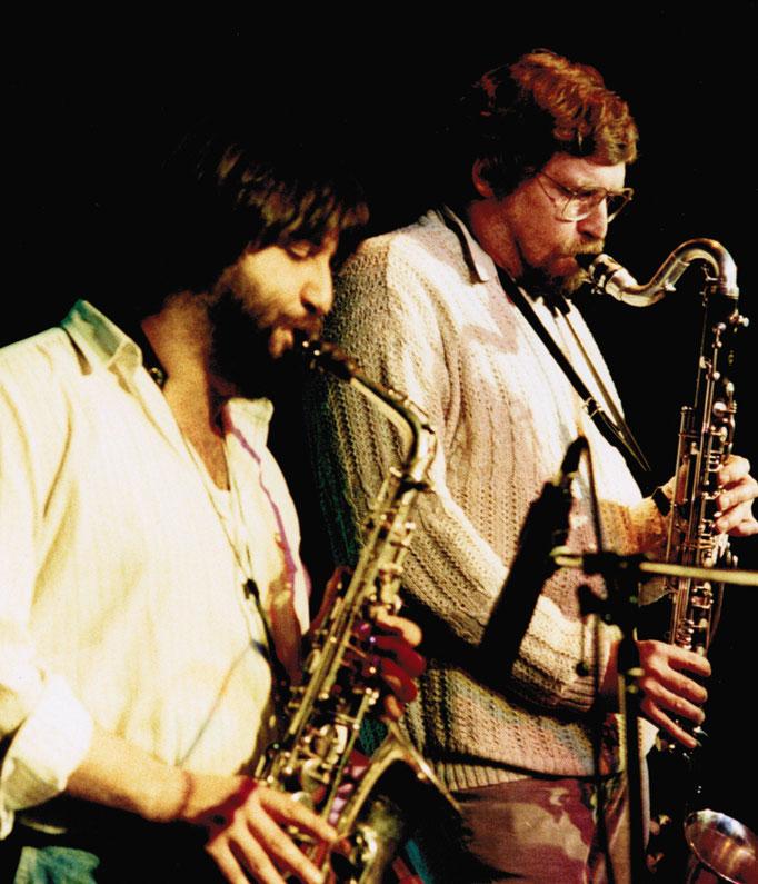 Luciano Pagliarini und Michel Pilz
