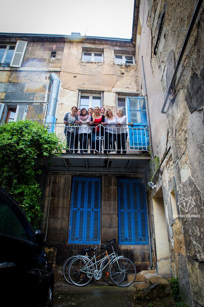 Enterrement de vie de jeune fille Dijon- EVJF - Bourgogne - Le Studio des Songes - Anne-Sophie CAMBEUR