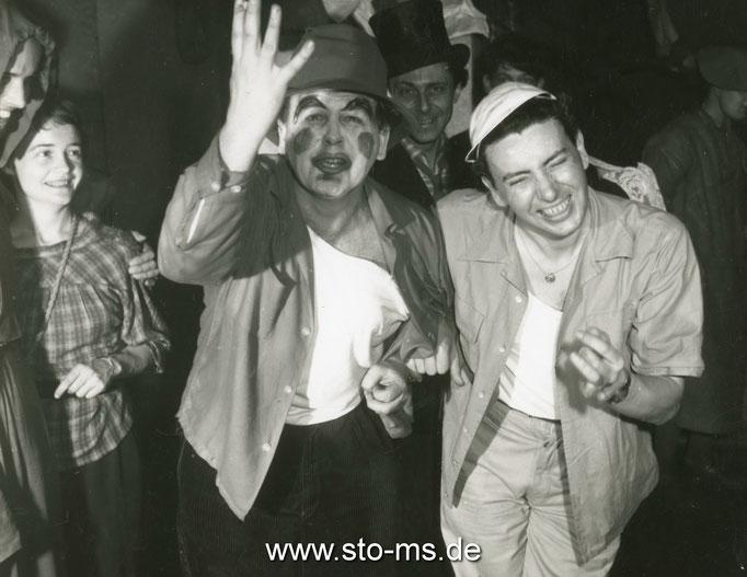 Mit Victor Schamoni - Kameramann