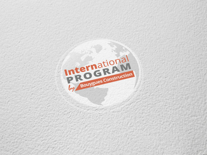 Identité visuelle - Logo - International Program - Bouygues Construction - Agence Ibusiness Solutions