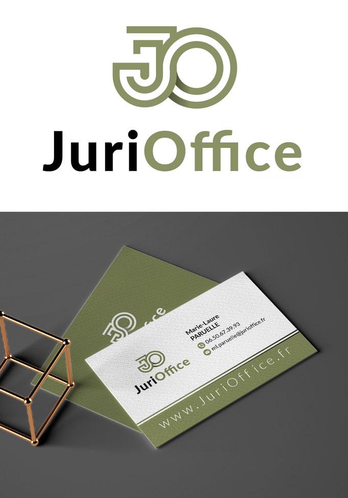 Identité visuelle et logo JuriOffice