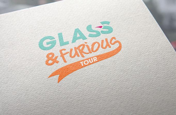 """Naming, logo et déclinaison de marque - """"Glass & Fuirons"""" - Pour l'agence Image Point Com"""
