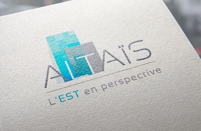 Logo  et déclinaison de la signalétique - Immeuble Altais - Pour l'agence Image Point Com