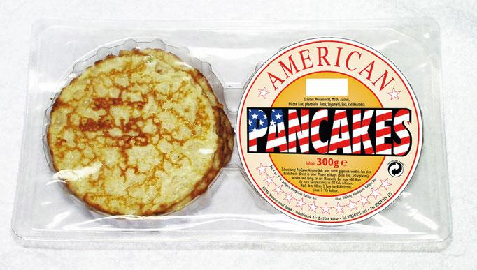 American PanCakes in den US-Farben