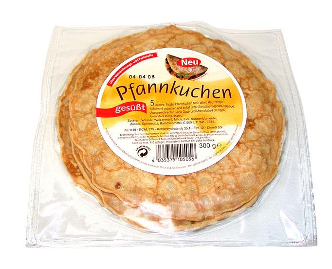 10 Pfannkuchen im Plisterbeutel.