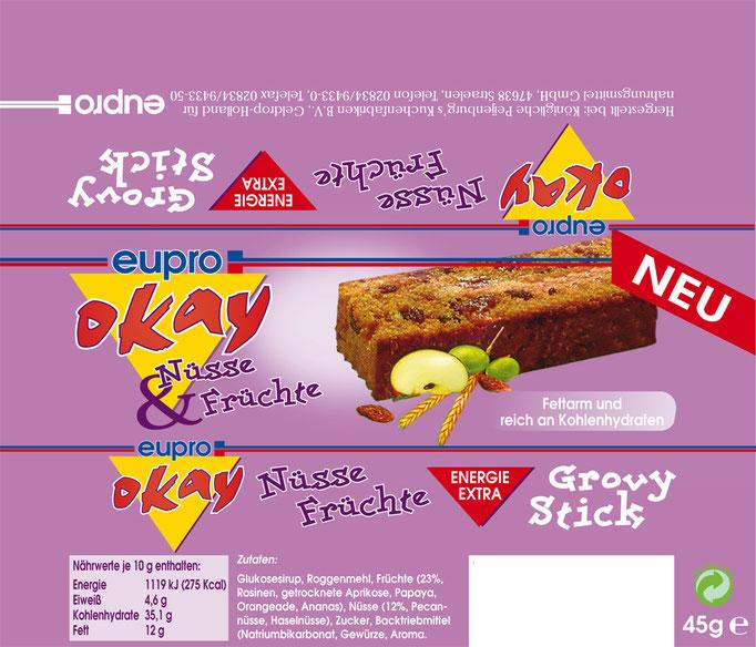 Groovy Stick süßer Snack für Zwischendurch
