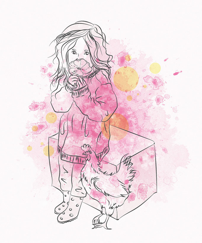 Illustration: Kind | (c) Felice Vagabonde