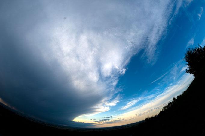 Himmel über Hainburg