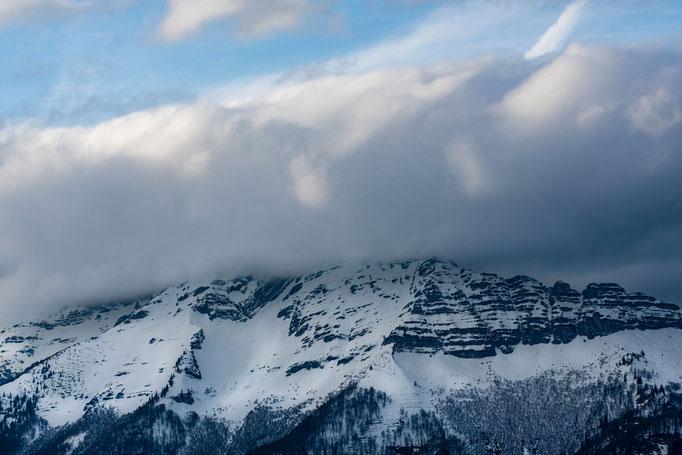Kalter Bergblick nördl. von Mariazell