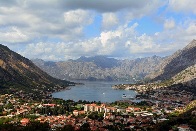 Die Bucht von Kotor