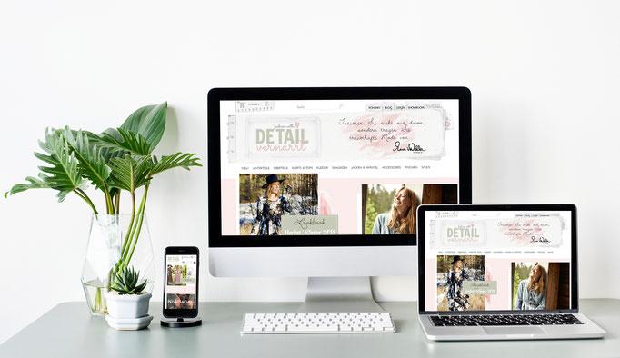 Kunde: Detailvernarrt / Webshop
