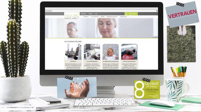 Kunde: Verband der Achtsamkeitslehrenden MBSR-MBCT Berlin - Relaunche Webseite