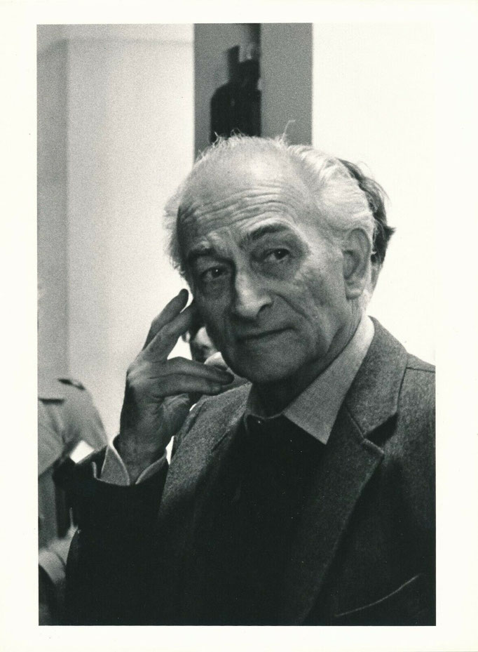 photographie du peintre Balthus