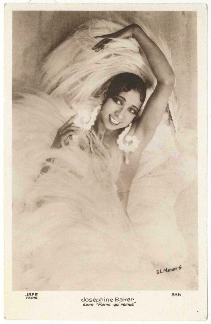 photo photographie époque tirage argentique Joséphine Baker
