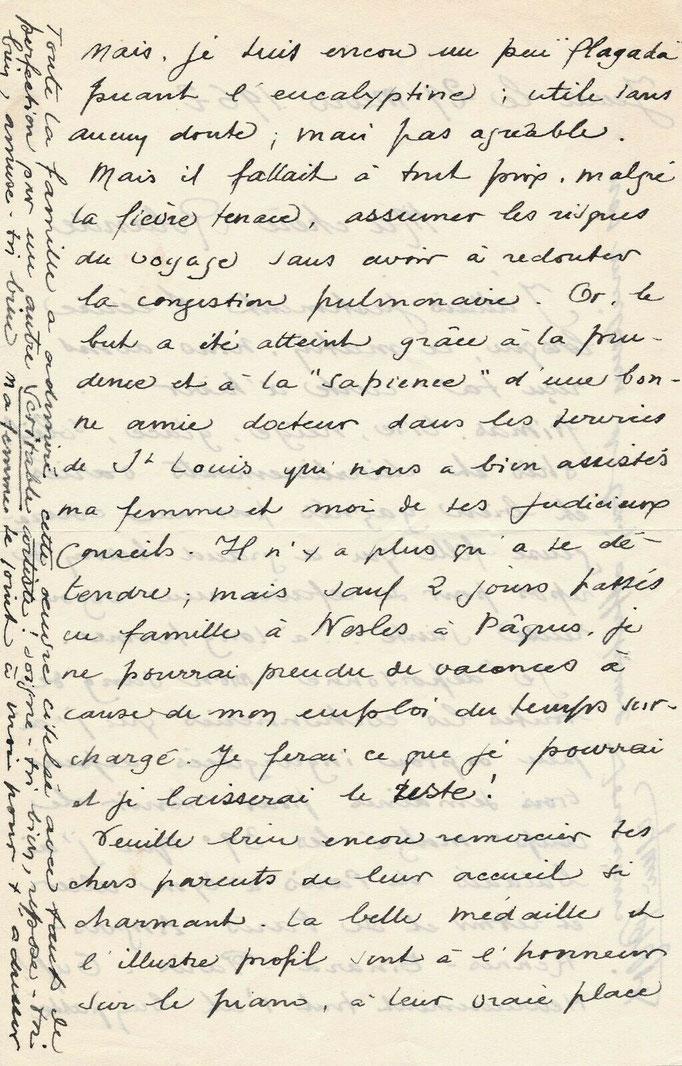 Eugène Bigot lettre autographe signée chef d'orchestre