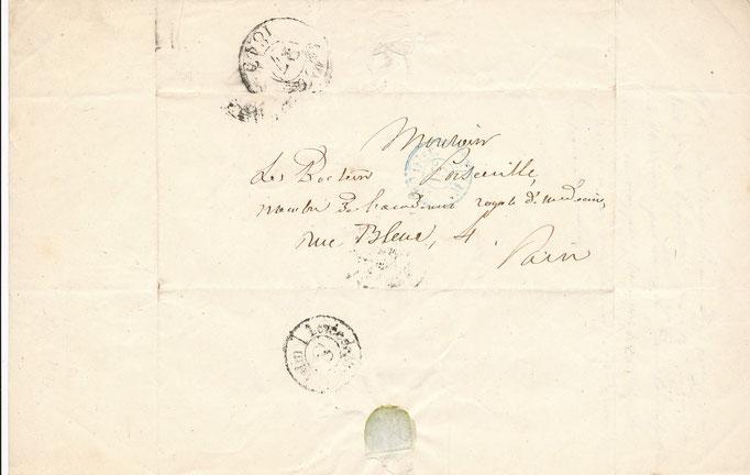 Louis Francisque Lélut médecin philosophe lettre autographe signée achat vente CD Galerie