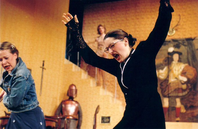 Das Gespenst von Canterville, Mecklenburgisches Landestheater Parchim, Kathrin Brunner