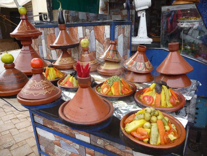 Mahlzeiten Marokko Reise
