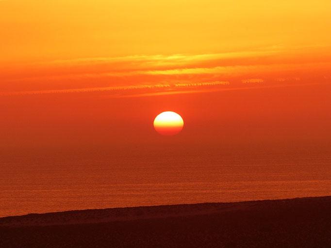 Sonnenuntergang Marokko Reise