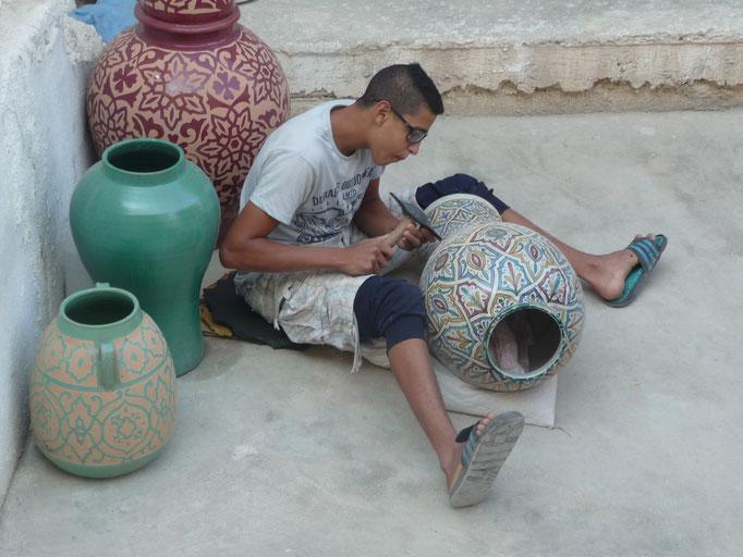 Töpferei Marokko Privatreise